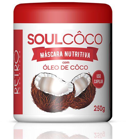 Retrô Soul Coco Máscara Nutritiva - 250g