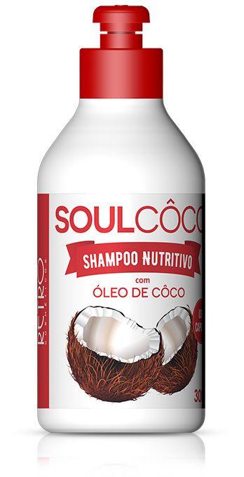 Retrô Soul Coco Shampoo Nutritivo - 300ml
