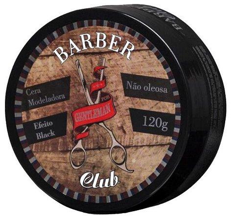 Barber Club Cera Modeladora Efeito Black Extra Forte Lattans - 120g