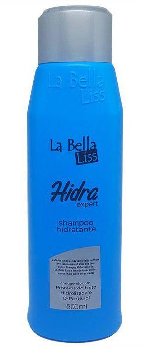 Hidra Expert Shampoo Hidratante La Bella Liss - 500ml