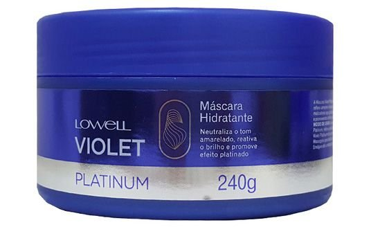 Lowell Violet Platinum Special Care Máscara - 240g