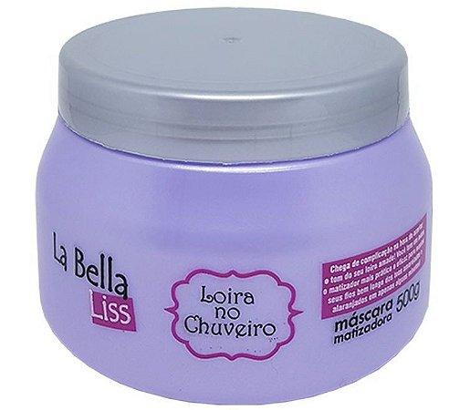 Loira no Chuveiro Máscara Matizadora La Bella Liss - 500g