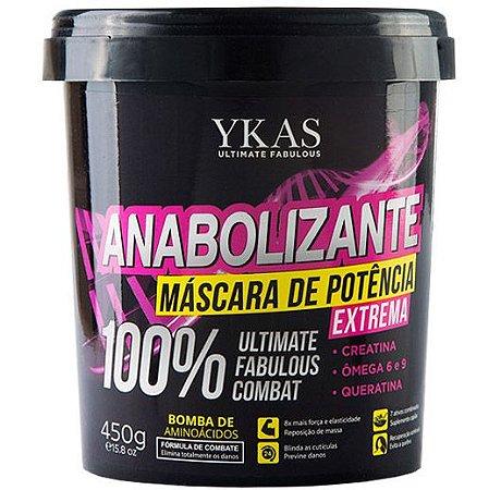 Ykas Anabolizante Capilar Máscara de Potência Extrema - 450g