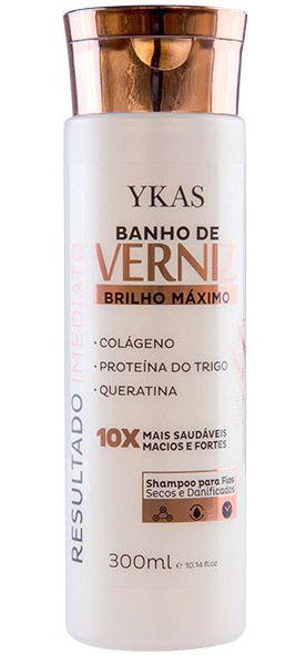 Ykas Banho de Verniz Shampoo de Brilho Máximo - 300ml