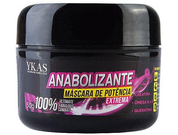 Ykas Anabolizante Capilar Máscara de Potência Extrema - 50g