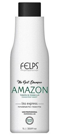 Felps Amazon The Best Shampoo que Alisa - 1 Litro