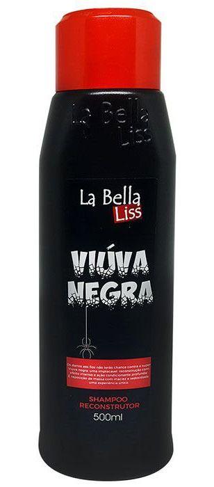 Viúva Negra Shampoo Reconstrutor La Bella Liss - 500ml
