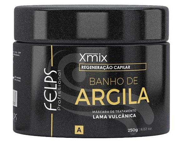Felps Banho de Argila Xmix Máscara de Tratamento Capilar - 250g