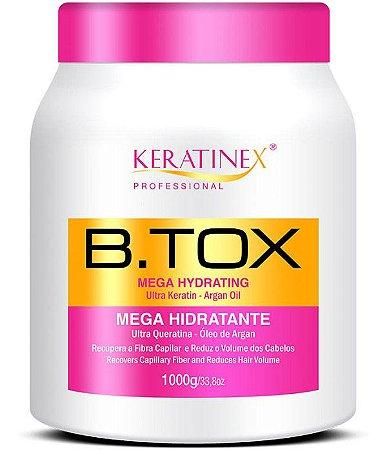 Keratinex Btox Mega Hidratante Creme Alisante Botox Capilar - 1kg