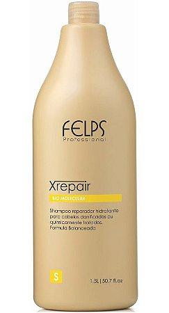 Felps Xrepair Bio Molecular Shampoo Reparador - 1500ml