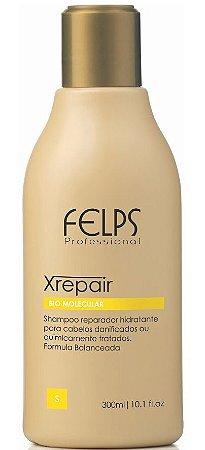 Felps Xrepair Bio Molecular Shampoo Reparador - 300ml