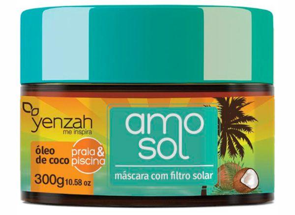 Yenzah Amo Sol Máscara Hidratante com Óleo de Coco - 300g