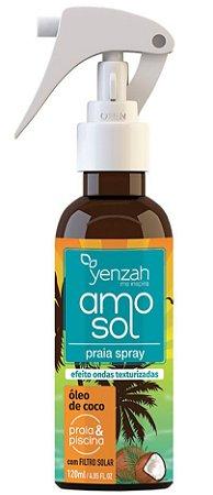 Yenzah Amo Sol Spray Praia e Piscina com Filtro Solar - 120ml