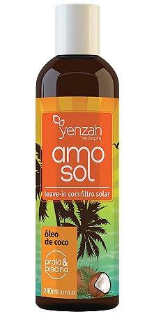 Yenzah Amo Sol Leave-in com Filtro Solar - 240ml