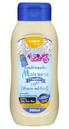 Maionese Capilar Light Condicionador To de Cacho - Desmaio Nutritivo! Salon Line - 300ml