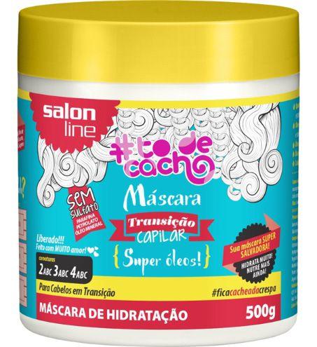 Máscara Transição Capilar #ToDeCacho - Super Óleos! Salon Line - 500g