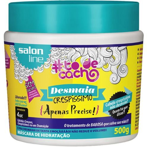Máscara Desmaia Crespíssimo #ToDeCacho - Apenas Preciso! Salon Line - 500g