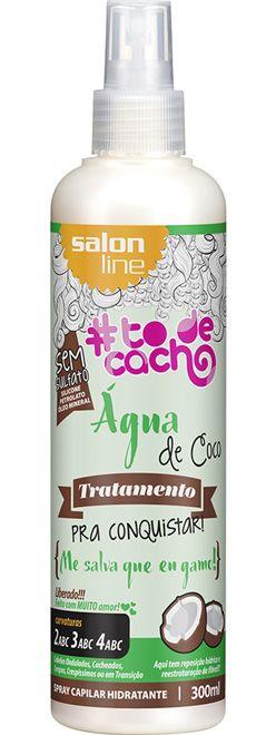 Água de Coco Spray Hidratante #ToDeCacho - Me Salva que eu Gamo! Salon Line - 300ml
