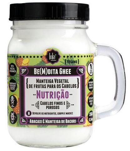 BeMdita Ghee Abacaxi e Manteiga de Bacuri - Máscara de Nutrição Lola Cosmetics - 350g