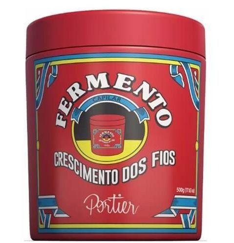 Portier Gourmet Fermento Capilar - Máscara de Crescimento dos Fios - 500g