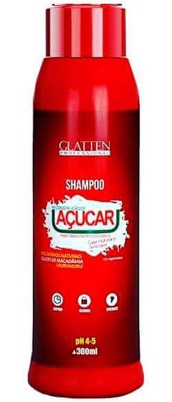 Glatten Reconstrução de Açucar - Shampoo Super Umectante - 300ml