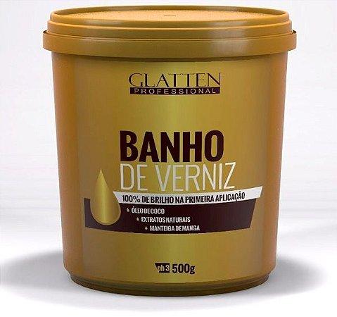 Glatten Banho de Verniz Máscara de Brilho Intenso - 500g