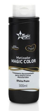 Magic Color Matizador Tradicional Efeito Prata - 500ml