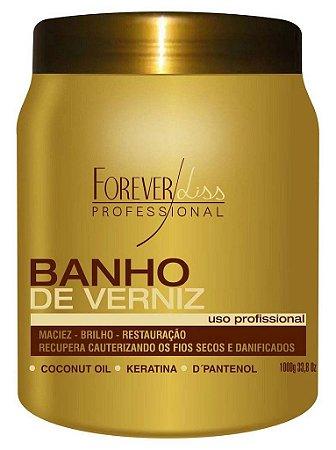 Banho De Verniz Máscara Forever Liss - 1kg