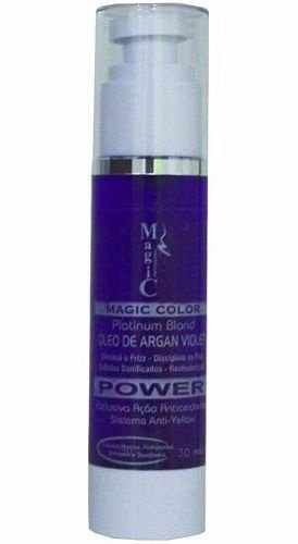 Óleo de Argan Violet Magic Color - 30ml