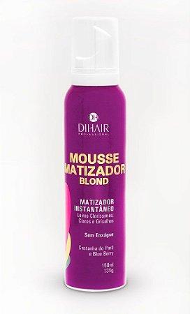 DiHair - Blond Mousse Matizador Instantâneo - Loiros Claríssimos, Claros e Grisalhos - 150ml