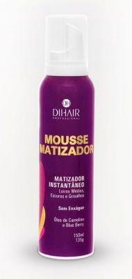 DiHair - Mousse Matizador Instantâneo - Loiros Médios, Escuros e Grisalhos - 150ml