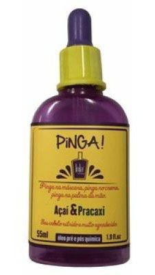 Lola Pinga! Açaí e Pracaxi - Óleo Pré e Pós Química - 55ml