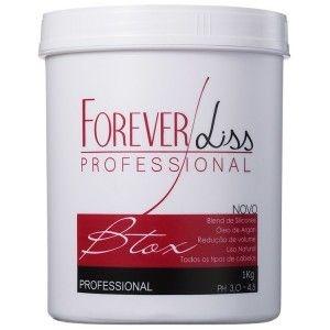 Forever Liss Btox - Botox Capilar Argan Oil - 1kg