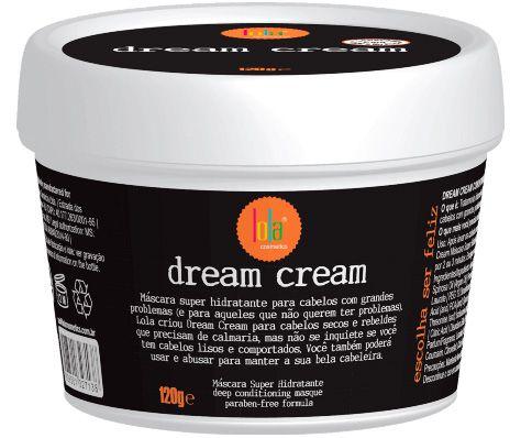 Dream Cream Máscara Super Hidratante Lola Cosmetics - 120g