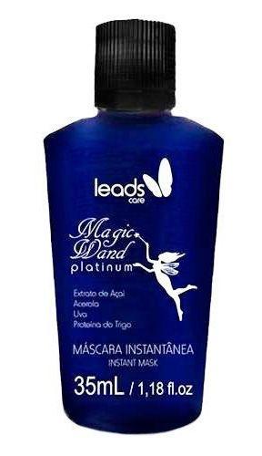 Leads Care - Magic Wand Platinum Máscara Instantânea Varinha Mágica - 35ml