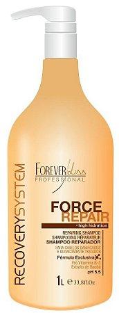 Force Repair Shampoo Reparador Forever Liss - 1L