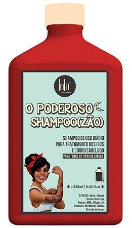 O Poderoso Shampoo(zão) Lola - Tratamento dos Fios e Couro Cabeludo - 250ml