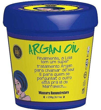 Lola Argan Oil/Pracaxi Máscara Reconstrutora - 230g