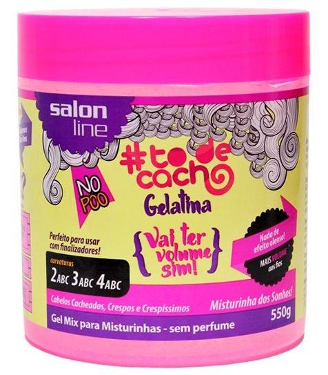Gelatina Vai ter Volume sim! Salon Line - 550g