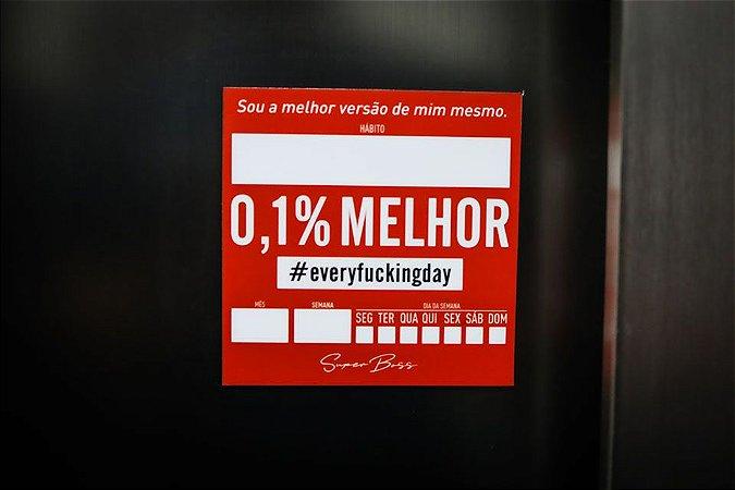 0,1% melhor  - controle de hábitos (imã)