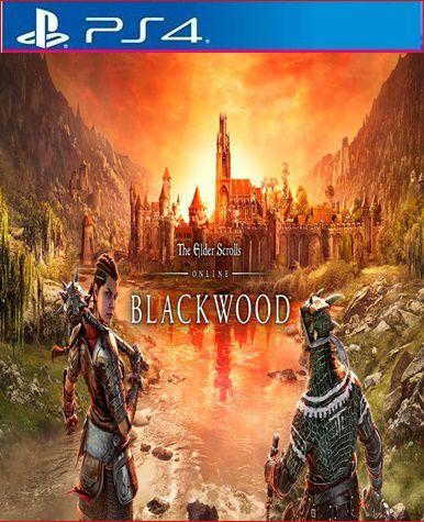 The Elder Scrolls Online Collection: Blackwood CE ps4 mídia digital