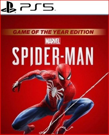 Marvel's Spider-Man: Game of the Year Edition PS5 - Mídia Digital