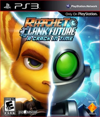 RATCHET & CLANK FUTURE A CRACK IN TIME PS3 MÍDIA DIGITAL