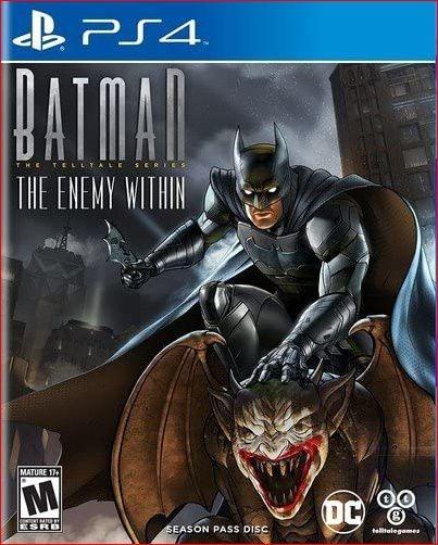 batman the enemy within ps4 midia digital