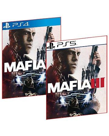 MAFIA III PS4 E PS5 MIDIA DIGITAL