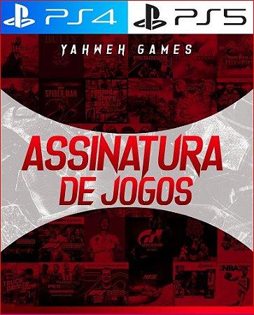 Assinatura De Jogos PS4 PS5 ( jogos digital )