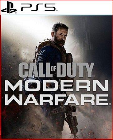 Call of Duty Modern Warfare PS5 Mídia Digital