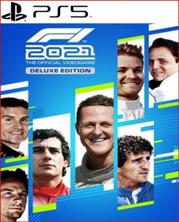 F1 2021 FORMULA 1 2021 DELUXE EDITION PS5 MÍDIA DIGITAL