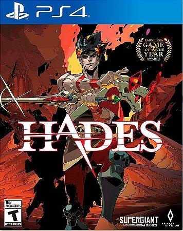 HADES PS4 MIDIA DIGITAL