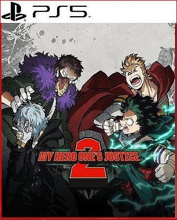 My Hero One's Justice 2 PS5 PSN Mídia Digital